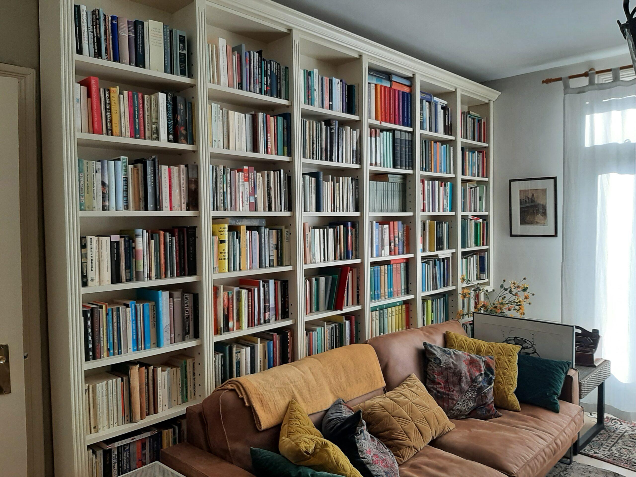 Maatwerk boeken- en kledingkasten